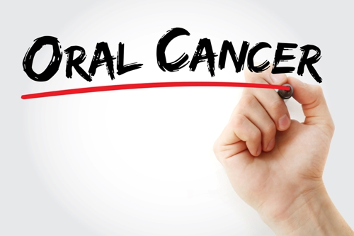 Hand-writing-Oral-Cancer-with-marker Dental Health For Older Adults